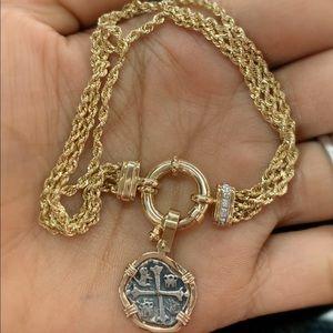 Jewelry - Atocha coin bracelet 14Kt gold